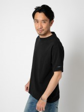 Turkey Cotton  Basic  T-shirts<ブラック>